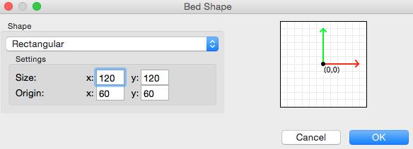 Platter bed shape configuration